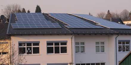 Fotovoltaik Anlage Lindlar-West