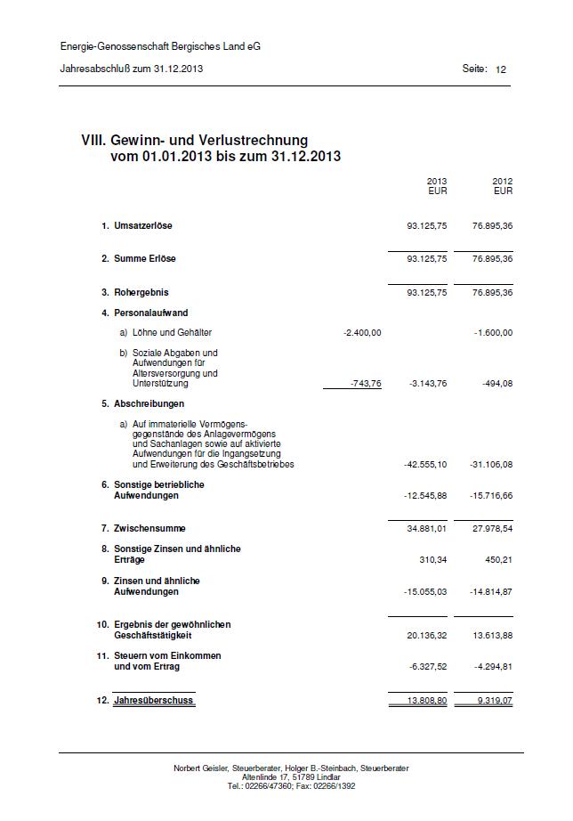Bilanz 2013 - Seite 12